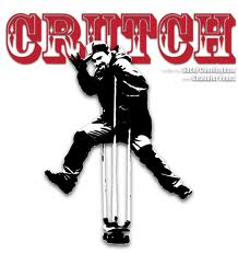 funny crutch